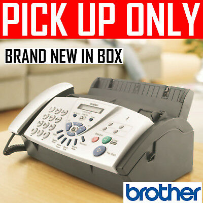 Brother Plain Paper Fax machine FAX 837MCS [PICKUP ONLY vic]
