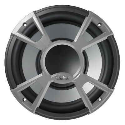 "Clarion CMQ2512W Water Resistant Subwoofer - 10"" - 4 OHM - 400W (Single)"