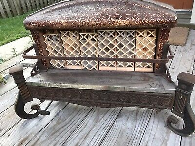Ray-Glo Vintage Antique Fireplace Insert / Heater