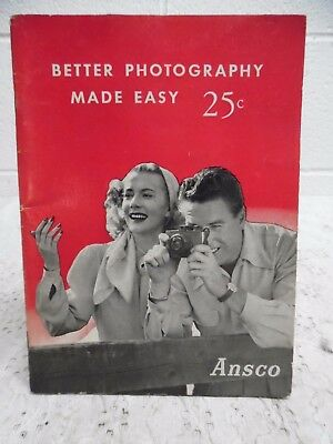 Vintage 1953 Ansco Better Photography Made Easy Booklet