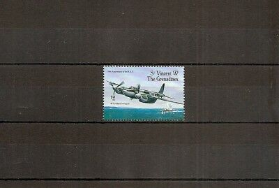 St Vincent 1993 SG2301 1v of set NHM RAF 75th Anniversary-De Havilland Mosquito