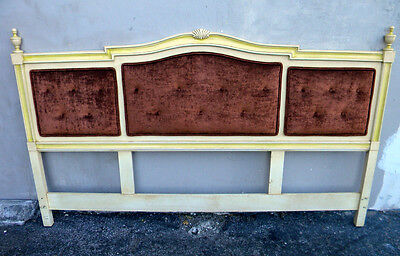 Tufted Upholstered King Size Painted Headboard 1749
