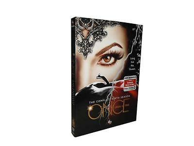 Once Upon a Time: The Complete Sixth Season 6 (DVD, 2017, 5-Disc Set)