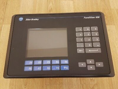 Allen Bradley Panelview 600 2711-K6C15 Operator Screen Colour HMI