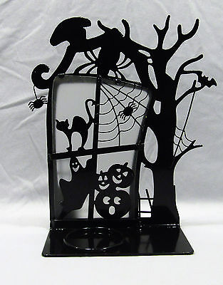 PartyLite SPOOKY TIME VOTIVE HOUSE  HALLOWEEN CANDLE HOLDER   P9780  NEW IN BOX