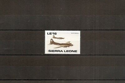 Sierra Leone 1990 SG1422 1v of set NHM WW2 50th-Boeing B17F Flying Fortress Bomb