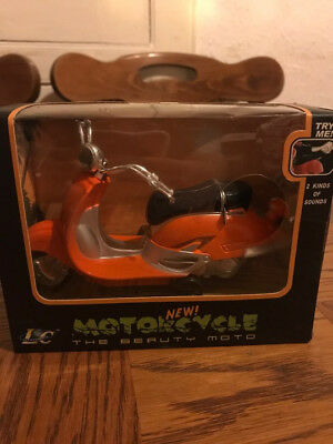 Kids toy motorcycle vespa with sounds