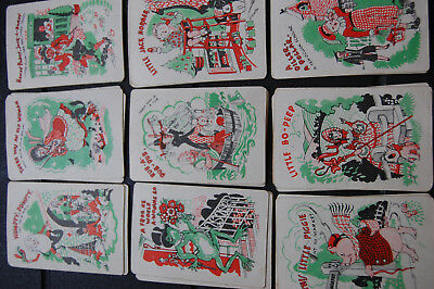 Vintage Snap Nursery Rhyme Card Game - (Chad Valley 1940's)
