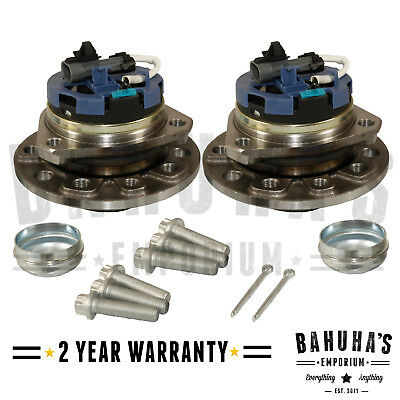 VAUXHALL ZAFIRA mk2 2005-2013 Front Wheel Bearing Kit Pair 5 Stud Capteur ABS