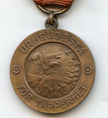 Finland WWII 1939 Medal of Liberty 2nd Class Nice Grade !!!