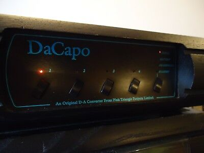 Pink Triangle DeCapo DAC. 'HDCD' filter fitted. (Perfect working order). 99p NR