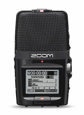 Zoom H2n Portable Recorder in Black with SD Card 2 GB