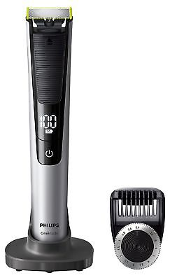 Philips OneBlade Pro Hybrid Trimmer & Shaver with 14-Length Comb (UK 2-Pin Bathr