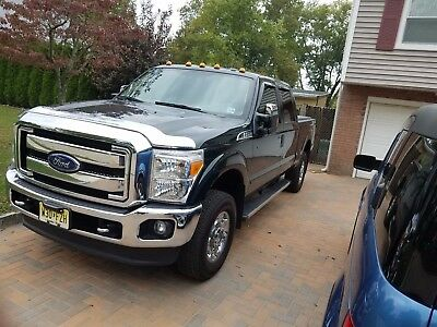 2016 Ford F-250  Forrest Green Super Duty 2016 Ford F250 w Extended Cab and Chrome Package