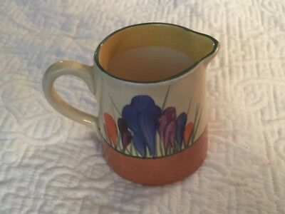 Pitcher Biyarre By Clarice Cliff Crocus Newport Pottery