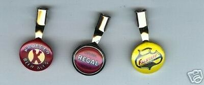 1  ( ONLY ONE ) KRUEGER  BEER Ale   advertising PENCIL CLIP