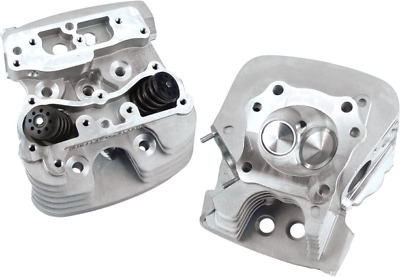 S&S Cycle S. Stock Cylinder Heads 79cc Silver (106-3227)