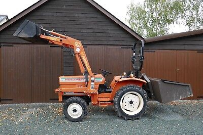 Compact Tractor With Front Loader 4X4