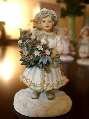Leonardo Collection Figurines by Christine Haworth..(..SNOW MAIDEN..) exc.cond