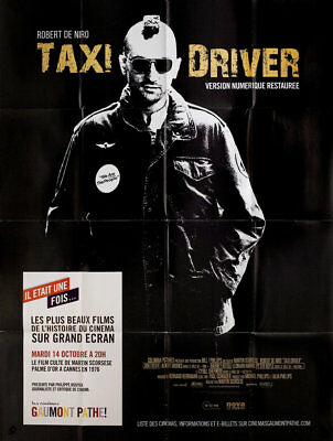 Taxi Driver R2015 French Grande Poster