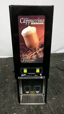 Curtis Cafe PC2D Primo Cappuccino System 2 Flavor Machine Commercial Machine