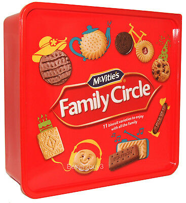 Biscuits Mc Vities Family Circle Variety Selection Tub Mc-Vities 950g