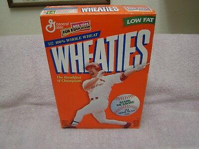 Mark McGwire Home Run Hero Wheaties Ceral Box - Sealed / Unopened Cardinals