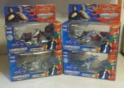 Orange County Choppers American Chopper The Series Four Various 1:18 Diecast