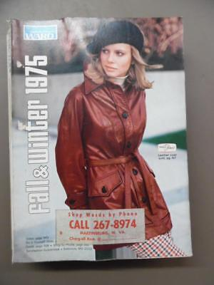 1975 Montgomery Ward Fall & Winter Catalog Fashion Home Decor Vintage