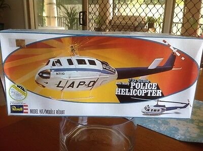 Revell 1/32 Bell 205 Huey Police Helicopter