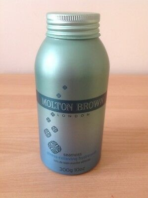 NEW & UNUSED MOLTON BROWN LARGE SEA MOSS STRESS RELIEVING HYDROSOAK - 300g