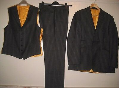 New & Lingwood 3 Pcs Formal Occasion Party Event Trousers Suit Size 36 & 44