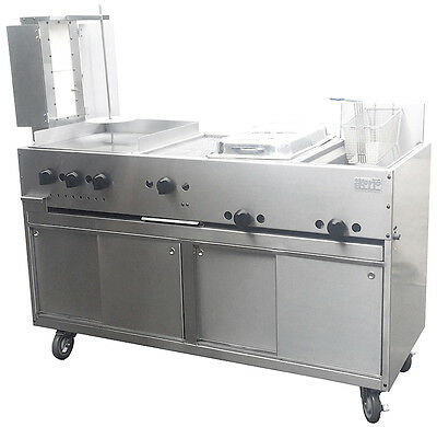 New Ekono Cabinet Taco Cart. All in one. Made in USA.10% PRICE REDUCED
