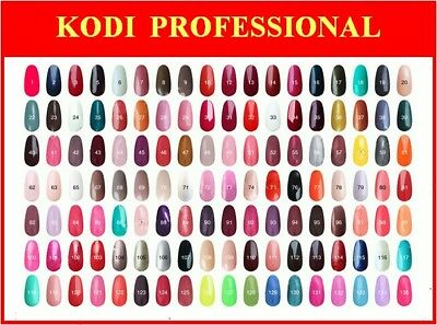 KODI PROFESSIONAL GEL UV/LED NAIL POLISH 8ml FREE SHIPPING
