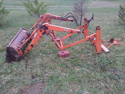Kubota B1630 Front End Loader For Compact Tractor w/ Valve, Brackets,frame mount