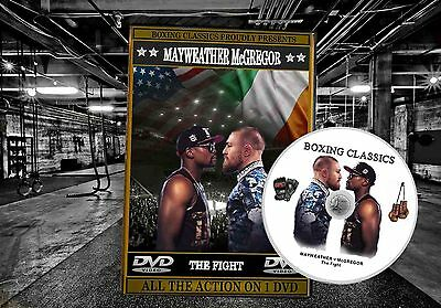Mayweather v McGregor (The Fight) Boxing DVD