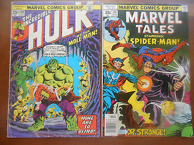 The Incredible Hulk 189 and Marvel Tales # 88 lot of two!