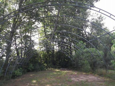 Quonset hut frame