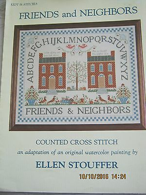Friends And Neighbours Chart Counted Crossstitch Charted For Dmc And Anchor