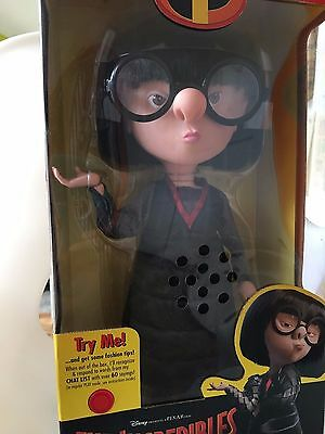 Disney PIXAR The Incredibles -EDNA INTERACTIVE & Talking Doll By Thinking Toy