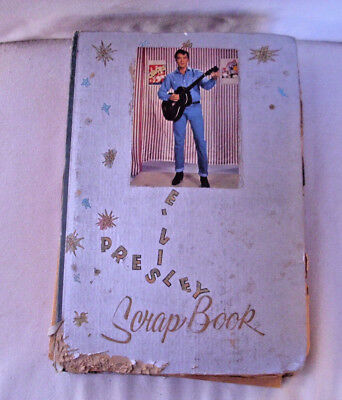 Early (1950's - 1960's) ELVIS fan's 300 page Scrap Book from about 60years ago!