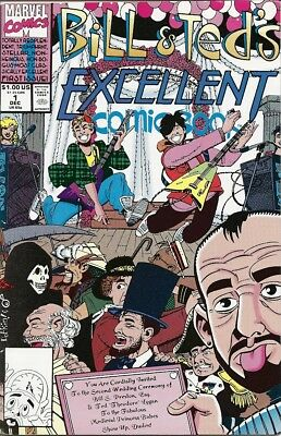 Bill & Ted's Excellent Comic Book #1 (Dec 1991, Marvel)