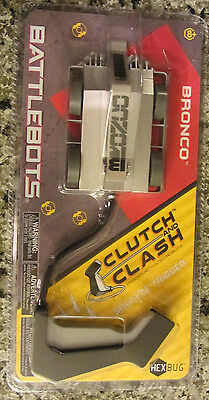 HexBug BattleBots Bronco Clutch & Clash-NEW..     b