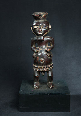 Bembe Style Ancestor Statue, D.R. Congo, Zambia, African Tribal Sculpture