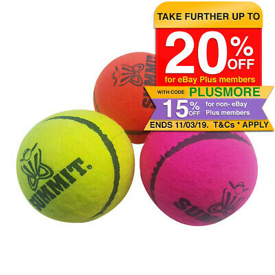 Fearnley Bouncer 3 Pack Tennis Balls Designed For Cricket Backyard/Street/Beach