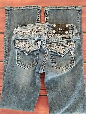***  Miss Me Boot Jeans** Lots of BLING* Girls 12