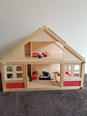 Wooden Doll House *Used*