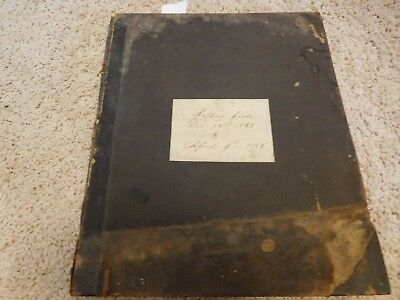 1862 Archive 600 Letters Ilion Bank Herkimer New York Rifle Pistol Contracts Rem