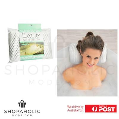Luxury Spa Pillow Bath Pillow Bringing the Spa Experience Home Soft Sponge