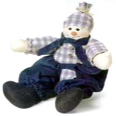 "Boyds Bear *Peter Frost*  #744106- 18"" Cloth Snowman Doll- NWT-1999- Retired"